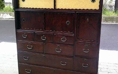 桑たんすの修理・家具修理