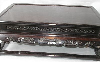 花台(木蓮型)の修理・唐木家具修理