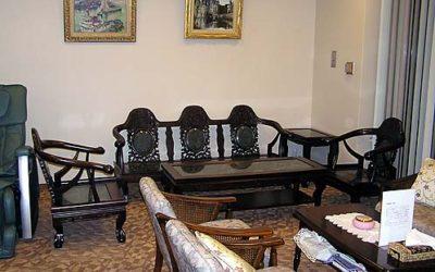 中国風 応接5点セット・家具修理