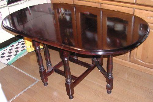 食卓テーブルの修理・家具修理