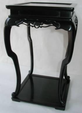 紫檀香炉台の修理・唐木家具修理
