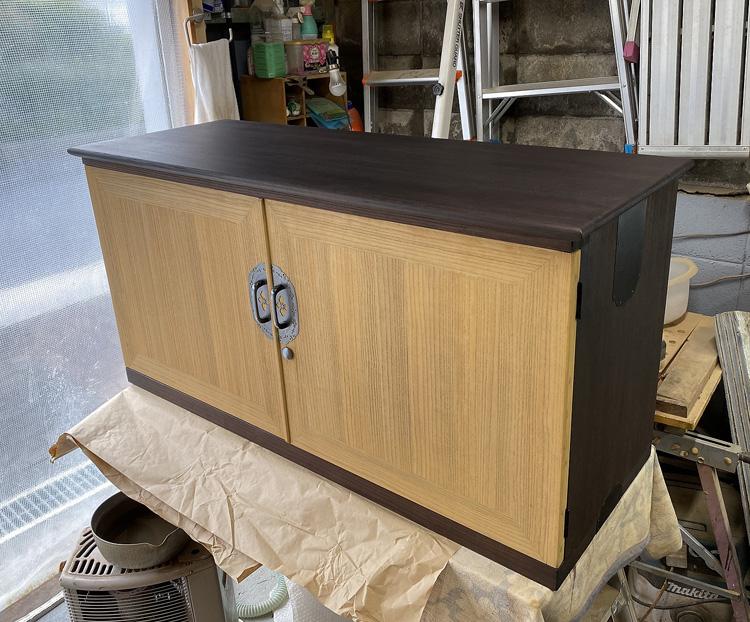 桐たんすの修理再生・洗いー和箪笥の修理再生・リフォーム