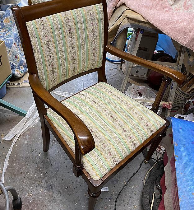 家具修理ー椅子の修理