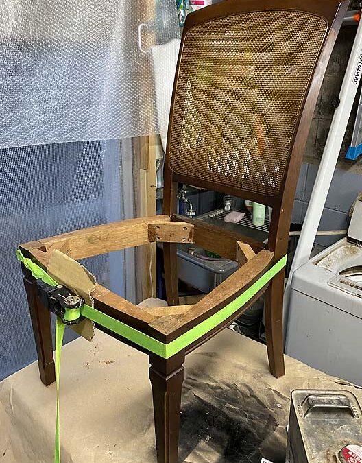 家具修理ー椅子修理