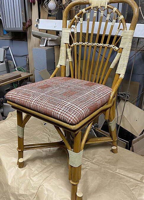 家具修理ー籐椅子修理、座面張替え、脚カット
