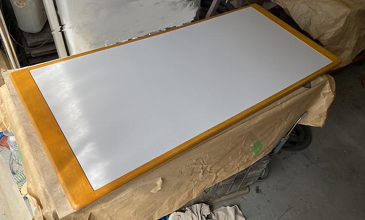家具修理ー応接セット塗り替え